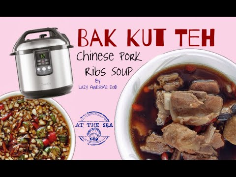 Bak Kut Teh Chinese Pork Ribs Soup Recipe Electric Pressure Cooker Breville Slow Fast Cooker