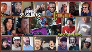Simon and Richter Lashes Out Crosses Over!-Vampire Killer-Super Smash Bros. Ultimate Reaction Mashup
