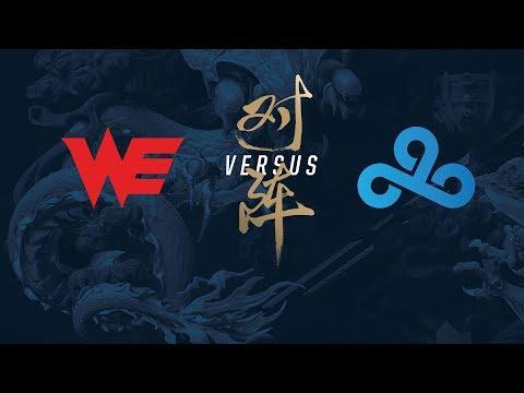 Campeonato Mundial de League of Legends 2017 - Eliminatorias - Día 4 (WE vs C9)