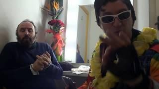 Intervista ad Andrea Buscemi vlog emozioni al teatro del Giglio Lucca by Grullo Grulli zingaratore
