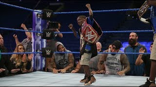 WWE - teen with chronic liver disease the role of a lifetime Jarrius Robertson is hero Warrior Award