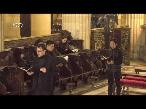 Vêpres du 13 janvier 2021 à Saint-Germain-l'Auxerrois