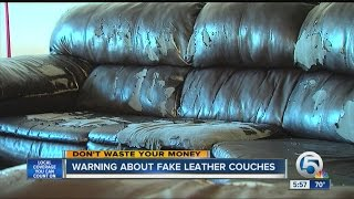 Warning About Fake Leather Couches