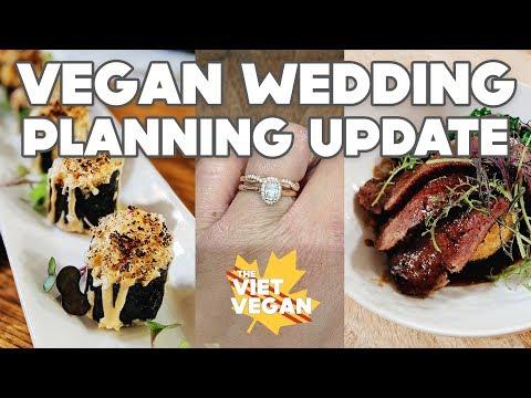 Picking our Wedding Bands & Finalizing the Menu! // Vegan Wedding Planning Vlog 06