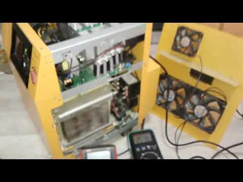 Ремонт голландского инвертора CYBERPOWER CPS7500PRO UPS ИБП