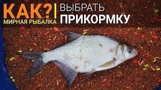 Как подобрать прикормку для рыбалки дома