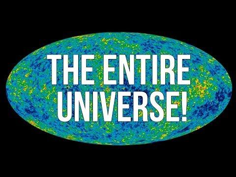 Universet er tykt som et papirark brettet 103 ganger!