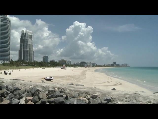 Toque de queda y cierre de playas en Miami