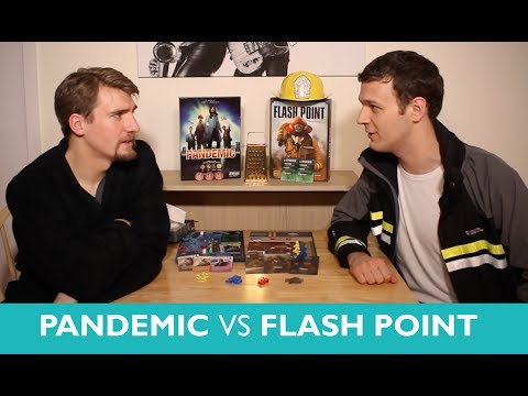 Which is Greater? Pandemic vs Flash Point: Fire Rescue