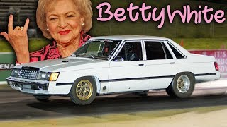 Betty White Out-Launches a GTR!
