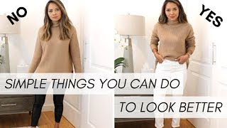 Simple Things You Can Do To Look Better Part II