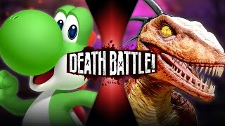 DEATH BATTLE! - Yoshi VS Riptor (Nintendo VS Killer Instinct) | DEATH BATTLE!