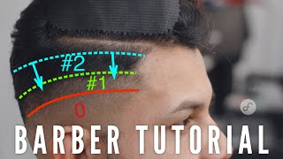 How To FADE The # 2 Into The # 1 Guide | BARBER TUTORIAL