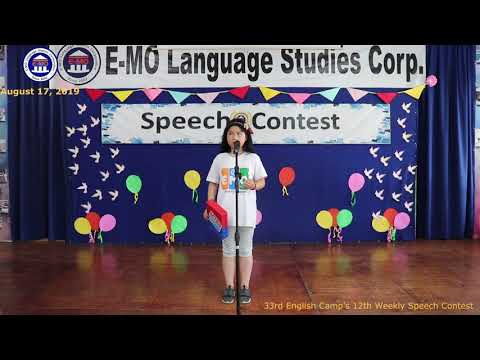 SPEECH CONTEST | MERY | JOLLY ENGLISH CAMP | AUGUST 17, 2019