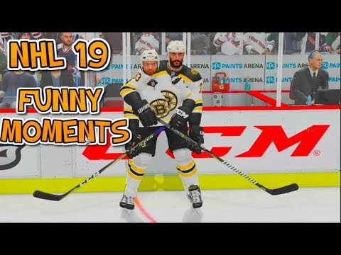 NHL 19 FUNNY MOMENTS #1!!!!