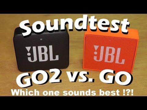 🔊 JBL GO2 Sound-test versus JBL GO
