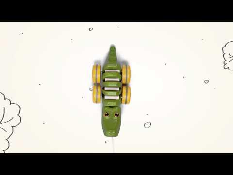 Vorschau: Krokodil Nachziehtier