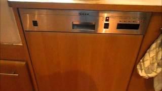 Neff Integrated Dishwasher start of wash