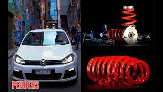 Volkswagen Golf Performance Parts | VW Tuning | Golf MK6 Mods From Pedders