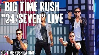 "Big Time Rush ""24/Seven"" Live [HD]"