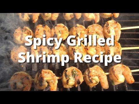 Grilled Shrimp Recipe – How To Grill Shrimp