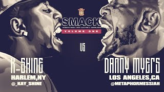 K-SHINE VS DANNY MYERS SMACK/ URL RAP BATTLE | URLTV