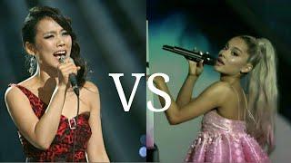 Sohyang 소향 VS Ariana Grande - Vocal Battle (A4-Bb5)