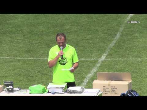 TSV Meisl Grein Frenkie Schinkels Fussball Camp Abschluss 18. 07. 2014