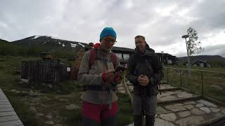 Climbing Kebnekaise