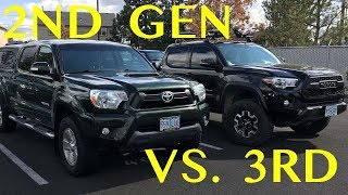 Is the 2nd Gen or 3rd Gen Tacoma better?