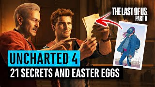 Uncharted 4 | 21 Secrets and Easter Eggs (Last of Us Part 2, E3, Breaking Bad)