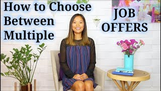 How to Accept Job Offer (When You Have Multiple Offers)