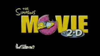 The Simpsons Movie Trailer HD