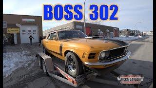 1970 Mustang Boss 302 - 25 YEARS in storage