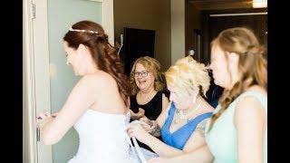 Calgary Wedding Photographer: Hotel Blackfoot - Chris & Deanna - Video Clip