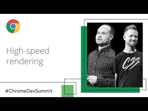 Smooth Moves: Rendering At The Speed Of Right ® (Chrome Dev Summit 2018)