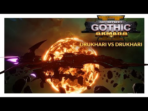 BATTLEFLEET GOTHIC ARMADA 2 | IMPALERS IN COMPARISON - Drukhari vs Drukhari (Ranked 1v1)