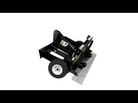 TR3 Rake Command Series – Tractor Rake (3D Spin)