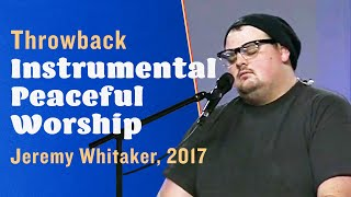 Peaceful Worship Piano (Instrumental) -- The Prayer Room Live Throwback Moment