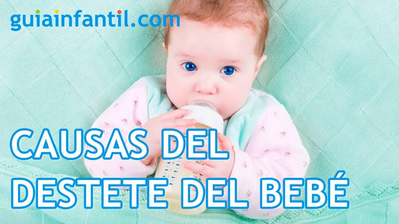 Causas del destete del bebé. Cuando el bebé deja la lactancia