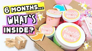6 MONTH OLD Slime Package...WHAT'S INSIDE?
