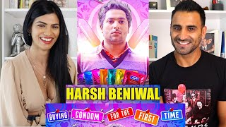 BUYING CONDOM FOR THE FIRST TIME REACTION!!! | Harsh Beniwal