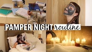RELAXING BED TIME NIGHT ROUTINE | Olivia Jade