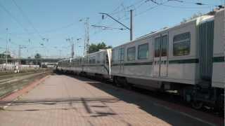 ВЛ60К-1412 с вагонами метро 81-740/741 «Русич»