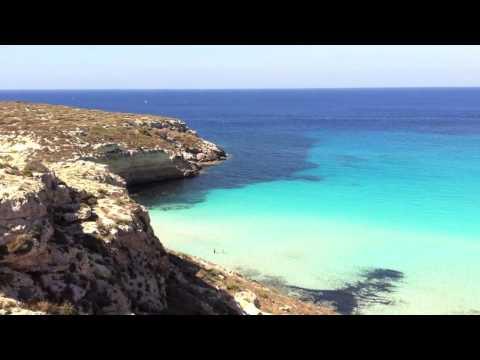 Rabbit Beach Lampedusa, Islands of Sicil