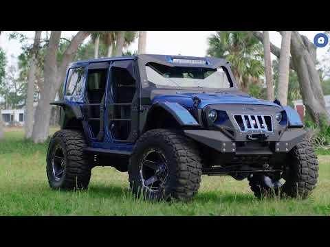 audiocityusa   Fab Fours Jeep Wrangler   GD4   GRID Off Road Wheels