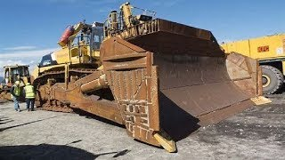 Extreme Dangerous Biggest Bulldozer Operator Skills - Amazing Modern Construction Equipment Machines