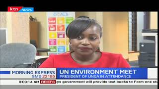 UN Environment Meeting: Discussion on conservation of environment
