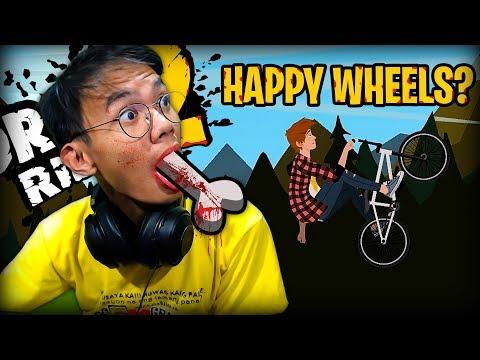 HAPPY WHEELS? | Draw Rider 2 - #Pinoy