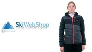 Kilpi, Svalbard midlayer down jacket, women, plus size, dark grey